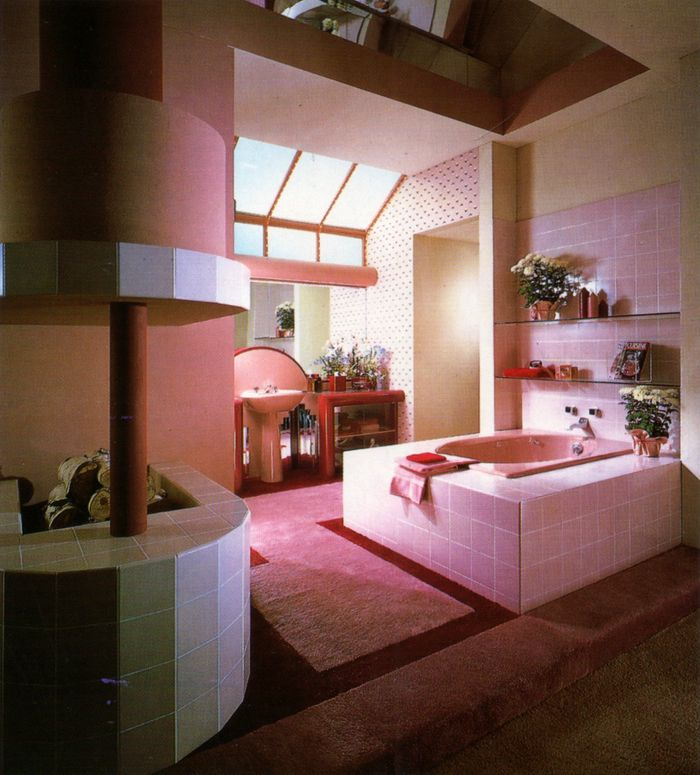 Interior Design By Retro Interiors: 36 Best Decor In The 1980s Images On Pinterest