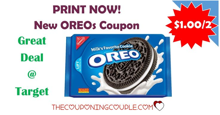 PRINT THIS RARE COUPON NOW! There is a new Oreos coupon to print! Print it to get a nice deal at Target or your favorite store!  Click the link below to get all of the details ► http://www.thecouponingcouple.com/print-now-new-1-002-oreos-coupon-target-deal/ #Coupons #Couponing #CouponCommunity  Visit us at http://www.thecouponingcouple.com for more great posts!