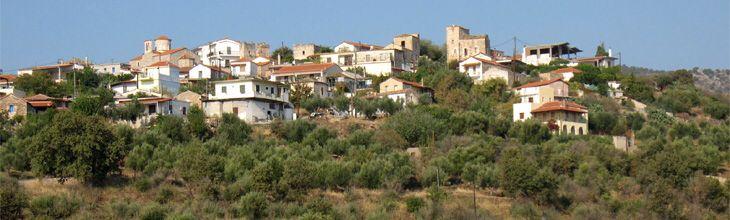Πανοραμική άποψη χωριού (Σκουτάρι)www.iloveskoutari.com