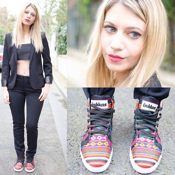The Kooples Jacket, Bor Bra, The Kooples Pants, Inkkas Sneakers