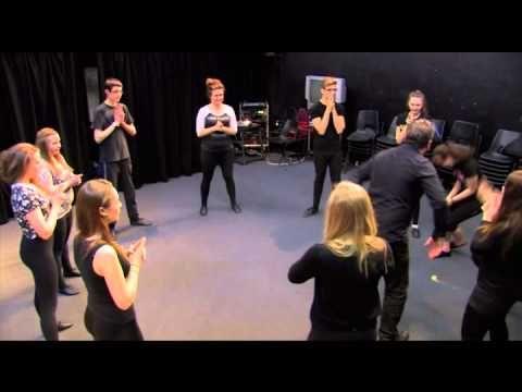 Theatre Game #3 - Splat! From DRAMA MENU - drama games & ideas for drama. - YouTube