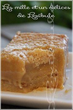 """Ces carrés sont Extrêmement """"cochons"""" et franchement trop irrésistibles hihi!! Cette version carrés """"tarte au sucre"""" émerveillera les véri..."""