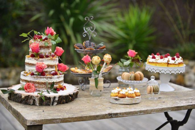Clara Jung Wedding Cake