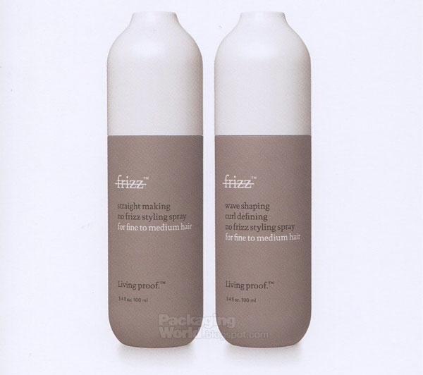 Shampoo packaging