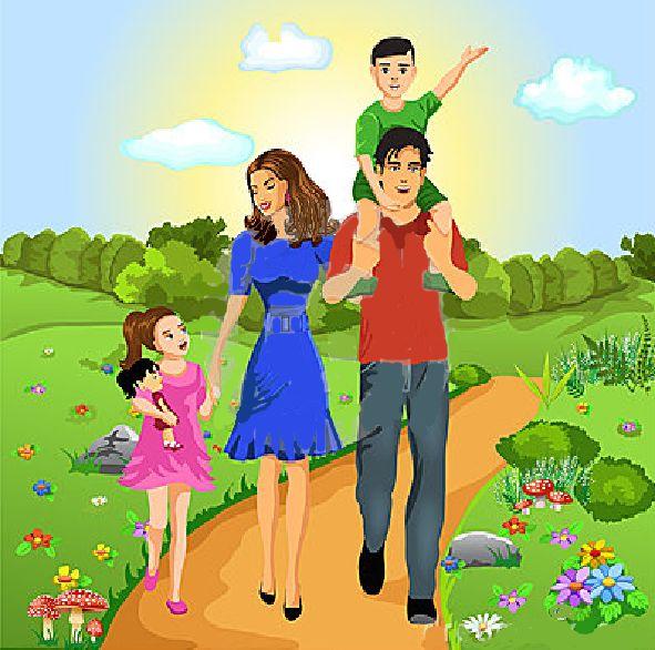 IMAGINI cu membrii FAMILIEI surprinsi in diferite activitati | Fise de lucru…
