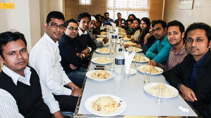 Lunch of BD employees @ Aheli Kebab with Ferdous Haider, the COO