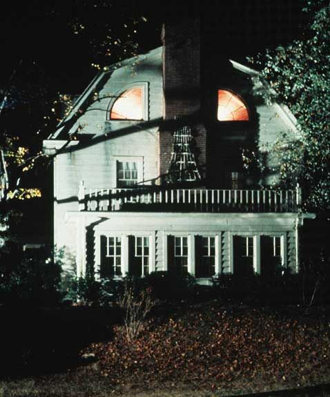 Layout of the amityville horror house