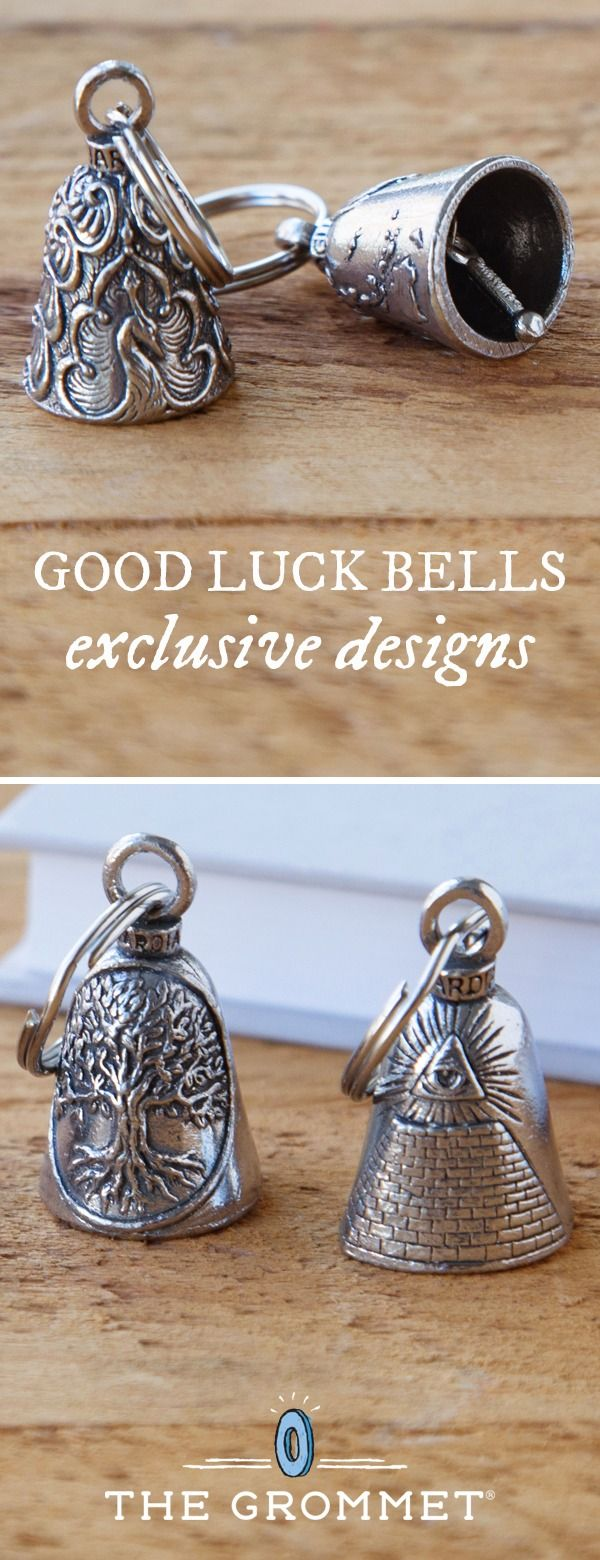 Give a loved one a double dose of good luck. These American made bells channel a centuries-old tradition of keeping negative energy away. These good luck bells are exclusive to The Grommet for a limited time.