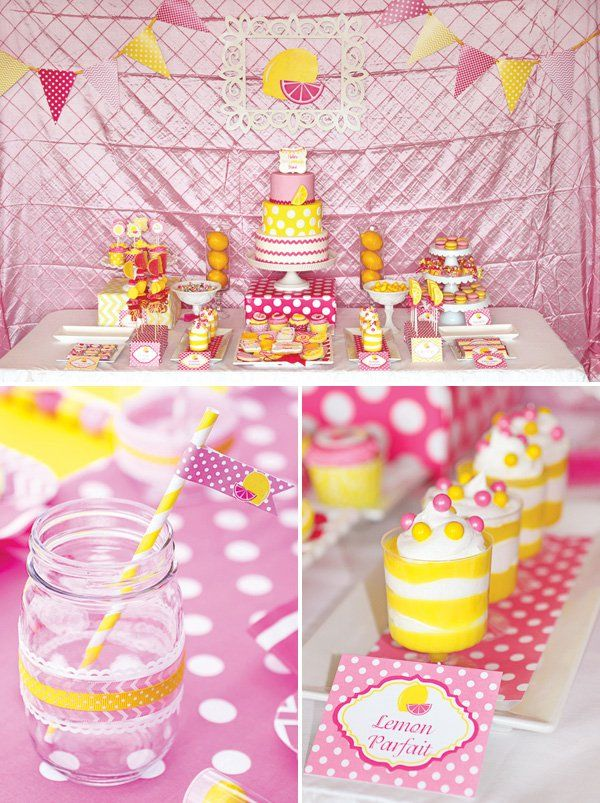 Sweet Summertime Pink Lemonade Birthday Party | Birthdays ...