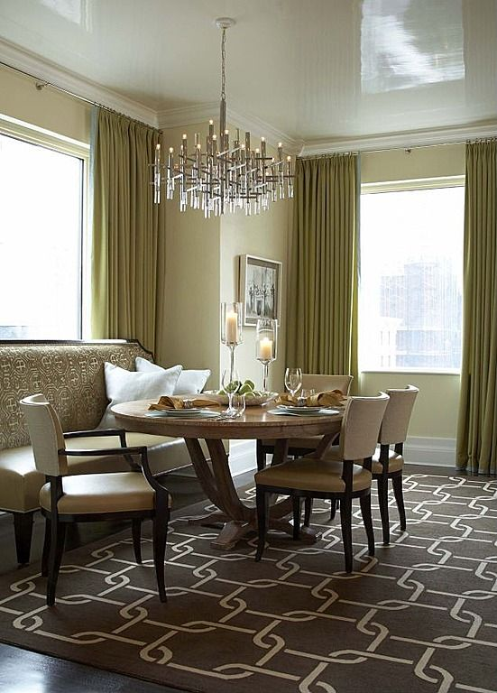 Get The Glossiest Ceiling On Market Without So Much As A Ripple Of Imperfection Contemporary Dining RoomsContemporary ChandelierDining