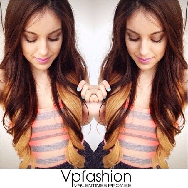 47 best hair length images on pinterest braids hair and hairstyles styleuwo2018 24inches top4 bottom14 completely obsessed with my luscious locks these are my fab new ombr extensions from vp fashion pmusecretfo Image collections