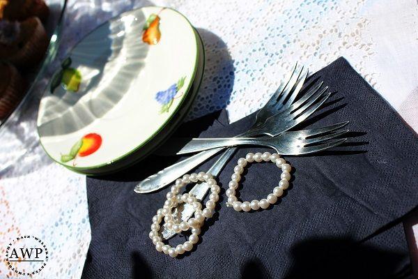 napkin ring vintage style