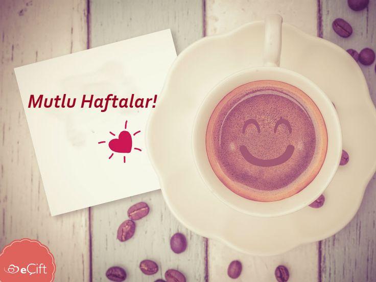 Yepyeni bir #pazartesi ve yepyeni bir haftaya merhaba. Herkese mutlu bir hafta dileriz #kahve #yenihafta #sendromsuzpazartesi #mutluhaftalar