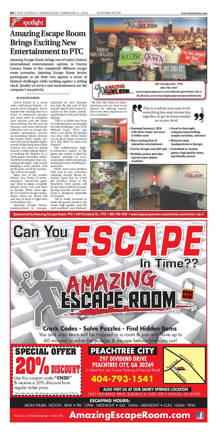 Amazing Escape Room Peachtree City