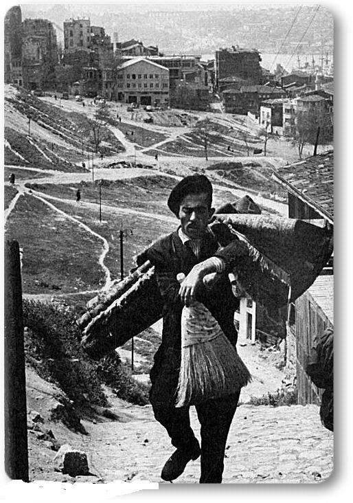 Halı Satıcısı Kasımpaşa - 1972 F: Ara Güler