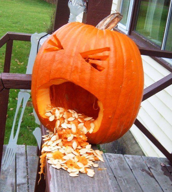 Best puking pumpkin ideas on pinterest halloween