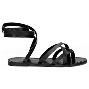 Strappy Flat Sandals - Shop for Strappy Flat Sandals on Polyvore