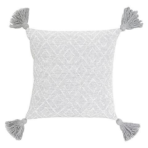 Bring shabby-chic cosiness into your bedroom or living area with the soft-to-touch Umbria Cushion from Maison by Rapee.