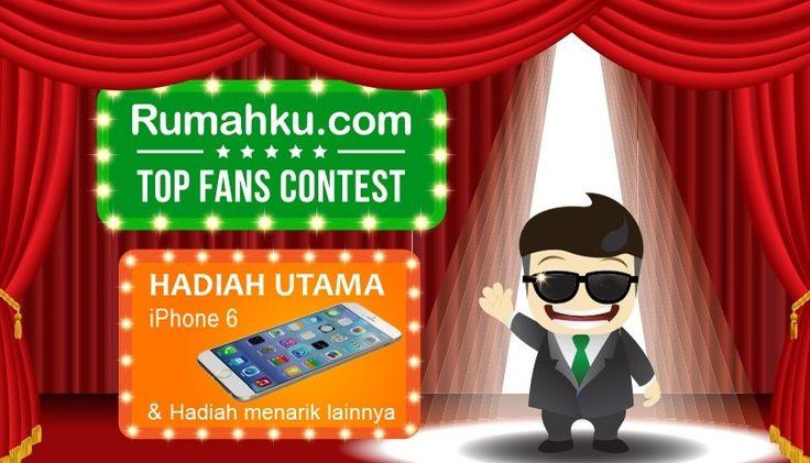 Dapatkan Iphone 6 Gratis di Rumahku Top Fans Contest! (Nov 2014 - Jan 2015)