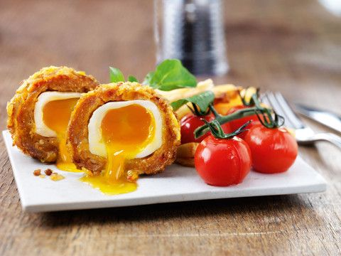 Our Spicy Chorizo Scrummy Egg is a real treat. Good to the last mouthful, they marry British gastro pub cuisine...