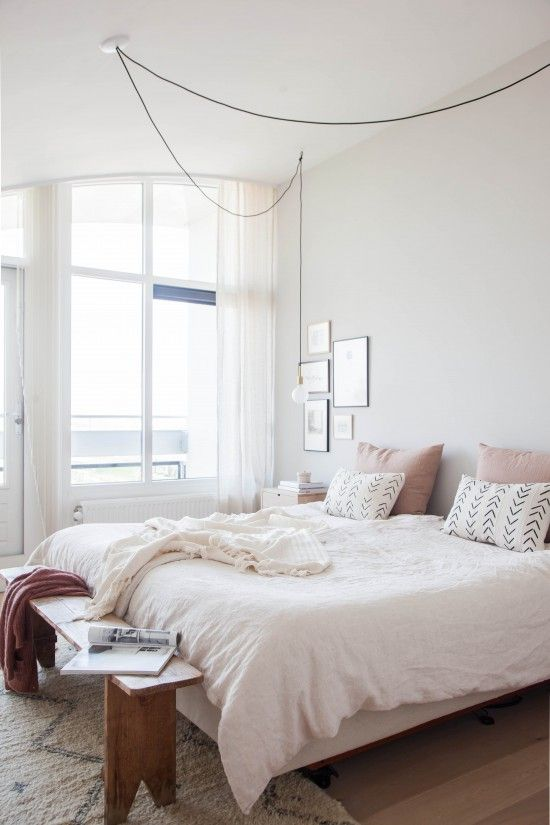 Cambio de look de un dormitorio con un acogedor estilo nórdico
