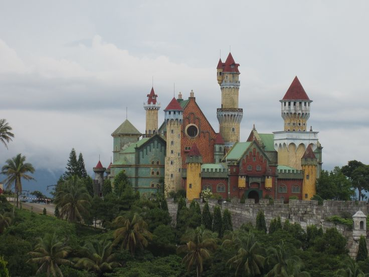 On the way of driving...  Fairy-tale castle from our dreams...