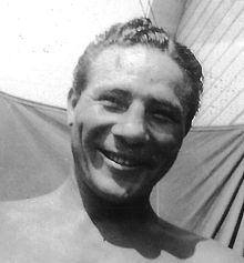 Max Baer (February 11, 1909 – November 21, 1959) was an American boxer of the 1930s (one-time Heavyweight Champion of the World) as well as a professional wrestler and referee, and had an occasional role on film or television. He was the brother of twice World Champion boxing contender Buddy Baer and father of actor Max Baer, Jr. (best known as Jethro Bodine on The Beverly Hillbillies). Baer is rated #22 on Ring Magazine's list of 100 greatest punchers of all time.