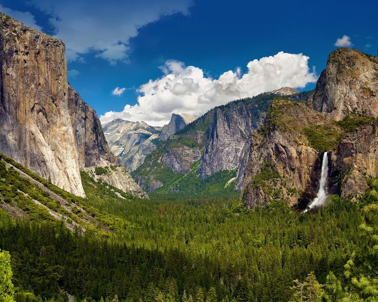 One of the more famous national parks in America, Yosemite National Park, is also located in California. Description from rmalimo.com. I searched for this on bing.com/images