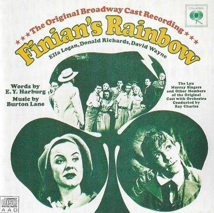 Finian's Rainbow - Original 1960 Broadway Cast - Ella Logan  CD CBS Records #ShowVocals