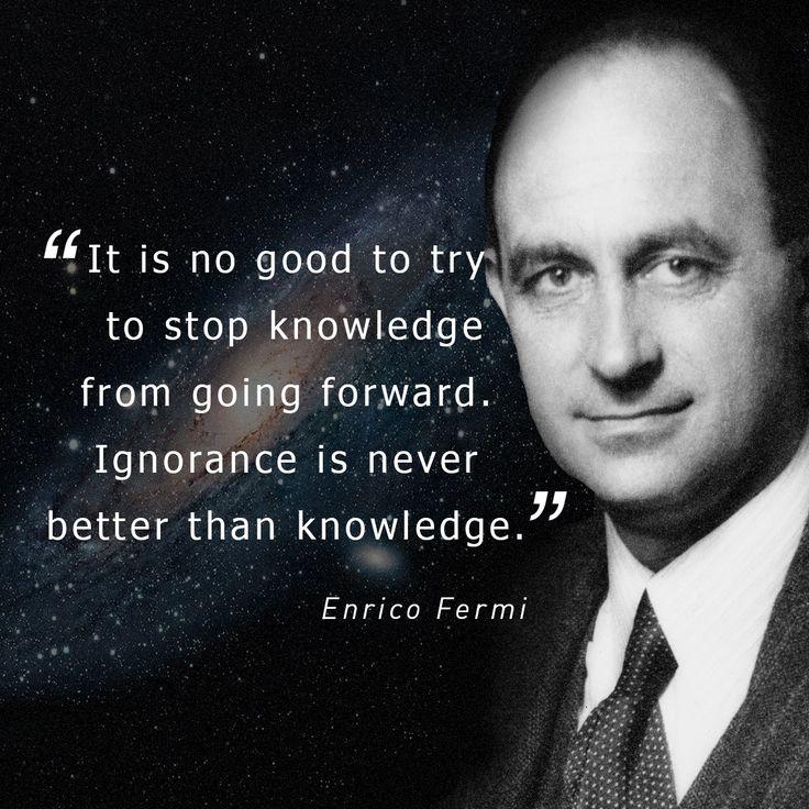 Enrico Fermi quote