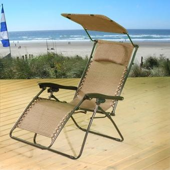 Zero Gravity Lawn Chair. Perfect For Reading On The Beach!