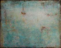 veiled - velado - técnica mixta 114  x 146 cm