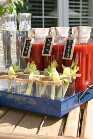 really want a bloody mary bar because they're my FAV!!