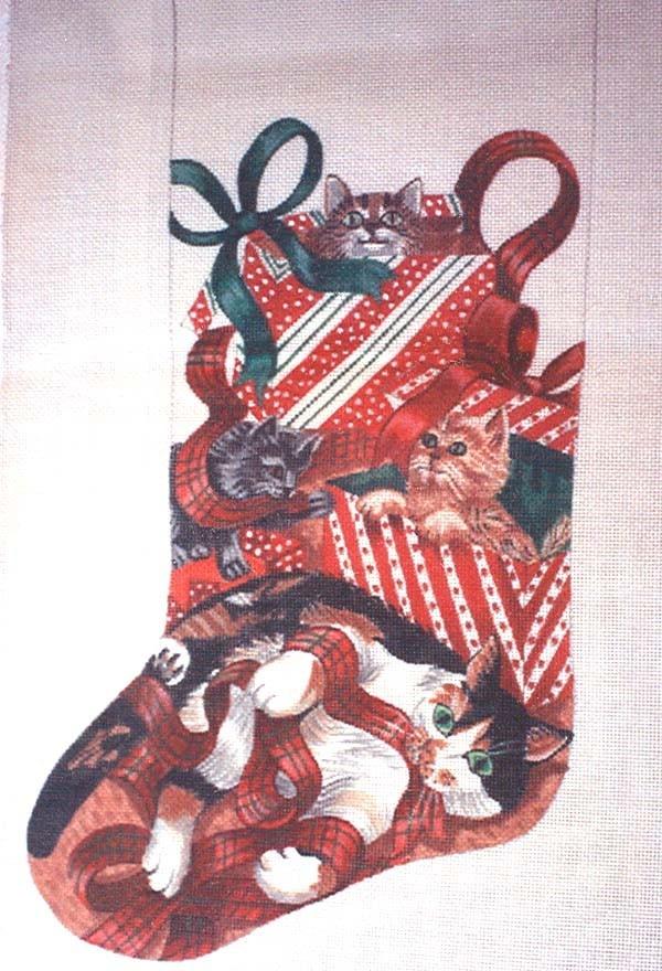 Christmas Needlepoint Stockings