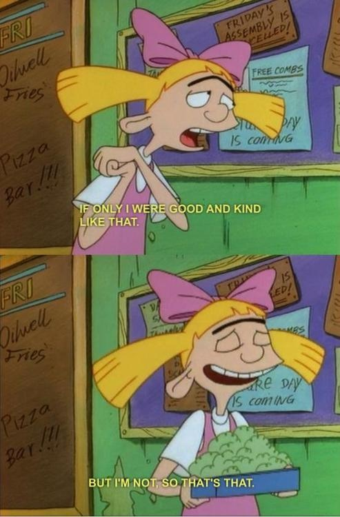 17 Reasons Why Arnold Would Have Been Lucky To Date Helga