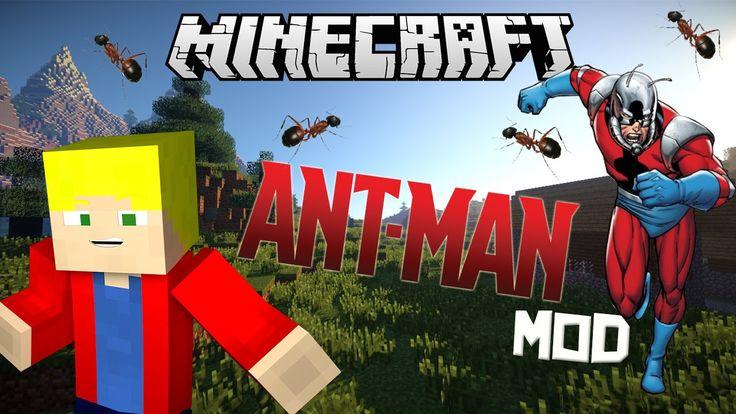 Мод Ant Man для Майнкрафт 1.7.10