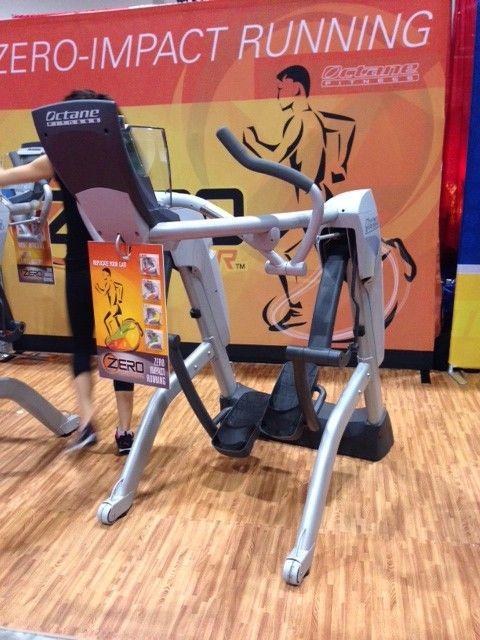 """I WANT ONE!!!  Too bad they cost $4,000.""""The Zero Runner makes a breakthrough in the treadmill game."""" -"""