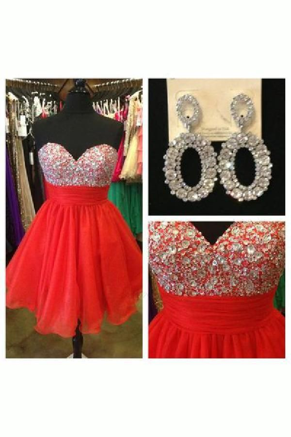 fd646a2ef Homecoming Dress Red, Homecoming Dresses 2018, Short Prom Dress #Homecoming  #Dresses #2018 #Dress #Red #Short #Prom
