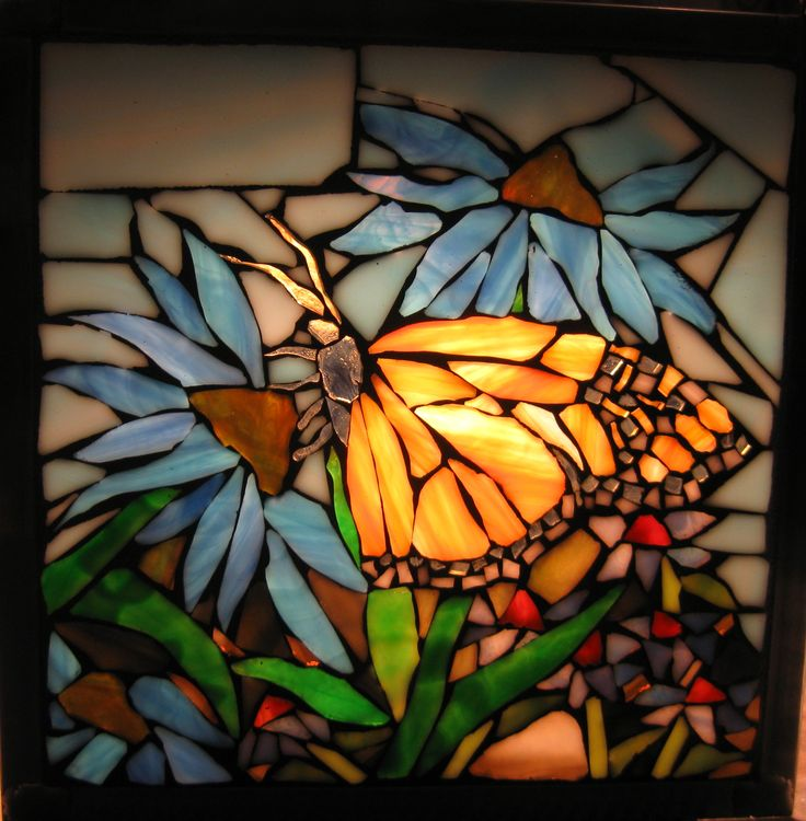 17 best images about glass leadlighting on pinterest for Butterfly stained glass craft