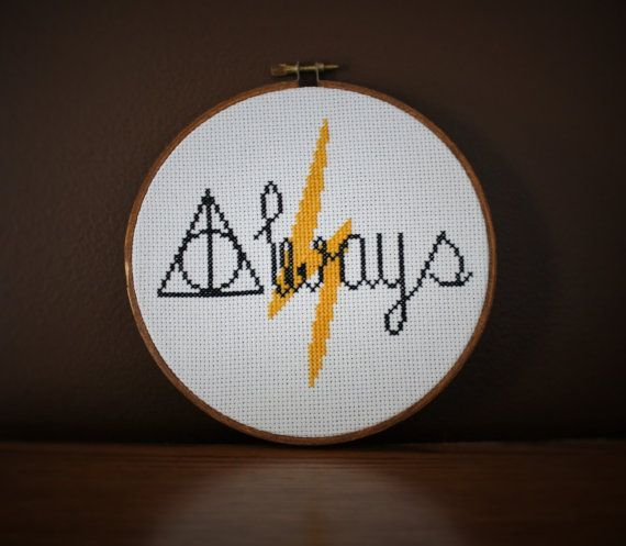 Hey, I found this really awesome Etsy listing at https://www.etsy.com/listing/228027427/always-harry-potter-cross-stitch