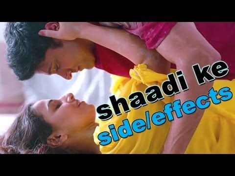 Shaadi Ke Side Effects is a Bollywood comedy movie. The film is directed by Saket Chaudhary and stars Farhan Akhtar, Vidya Balan, Ram Kapoor, Vir Das and Hariharan. The film is produced by Balaji Motion Pictures and Pritish Nandy Communications.