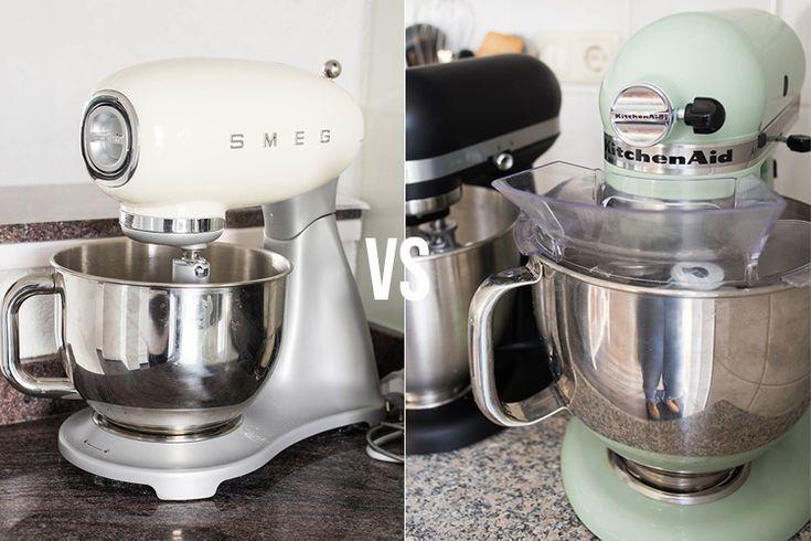 Keukenrobot review smeg vs kitchenaid artisan