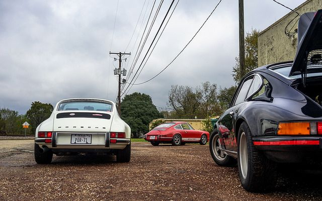 Early 911 rides -- by Big Chris Photography