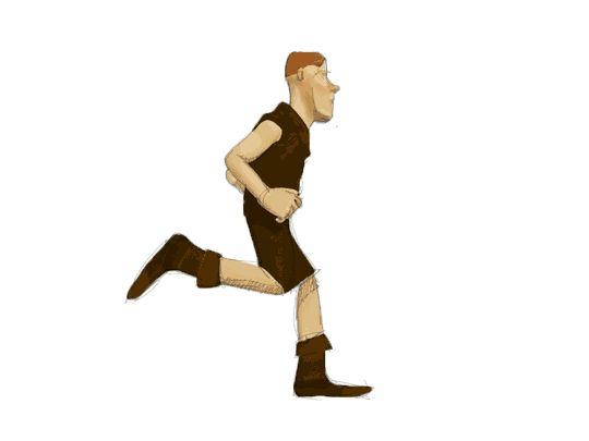 animation character running
