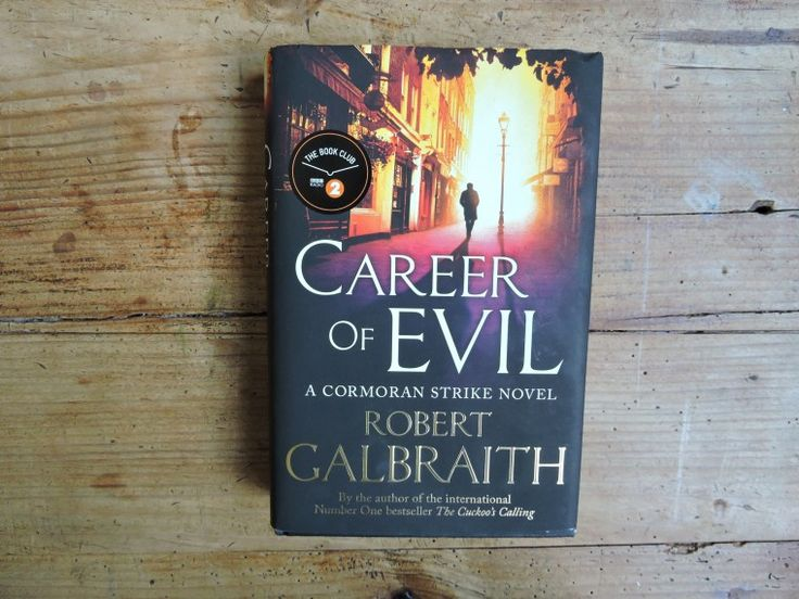 Book review of the Career if Evil. No spoilers!