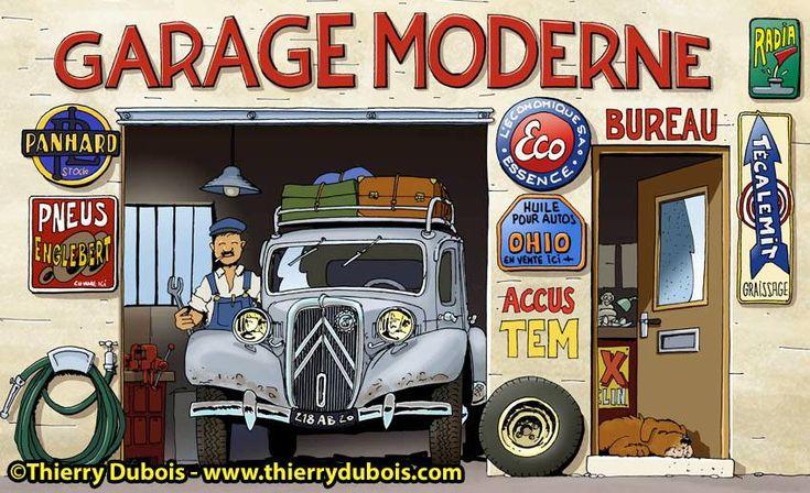 35 best citro n in de strip images on pinterest cars for Garage citroen nation