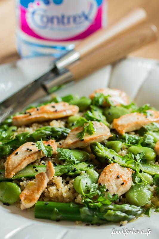 Les 25 meilleures id es de la cat gorie asperges sur - Cuisiner les asperges vertes ...
