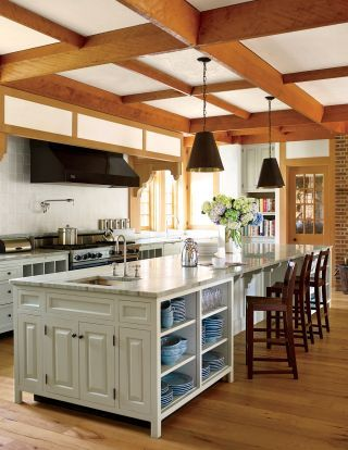 Traditional Kitchen by David Kleinberg Design Associates and Atelier  Co in Philadelphia, Pennsylvania