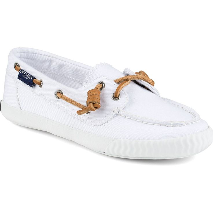 SPERRY Women's Paul Sperry Sayel Away Sneaker - White. #sperry #shoes #