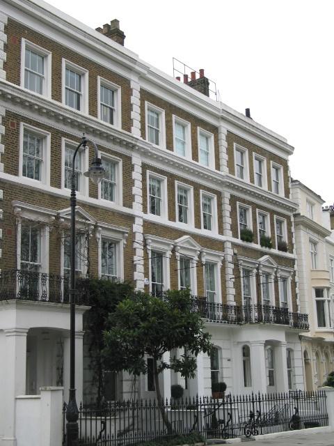 Georgian Building in Primrose Hill - Camden, London ~ looks a little bit familiar to the right of shot Loretta!...LOL x